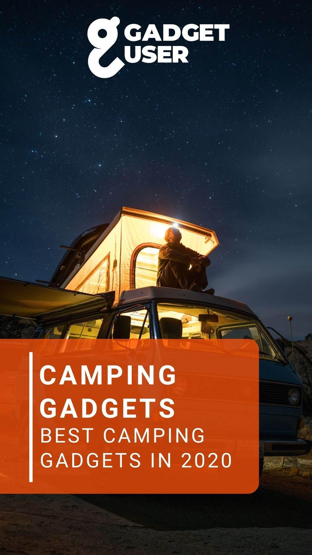 Best Camping Gadgets Gadget User